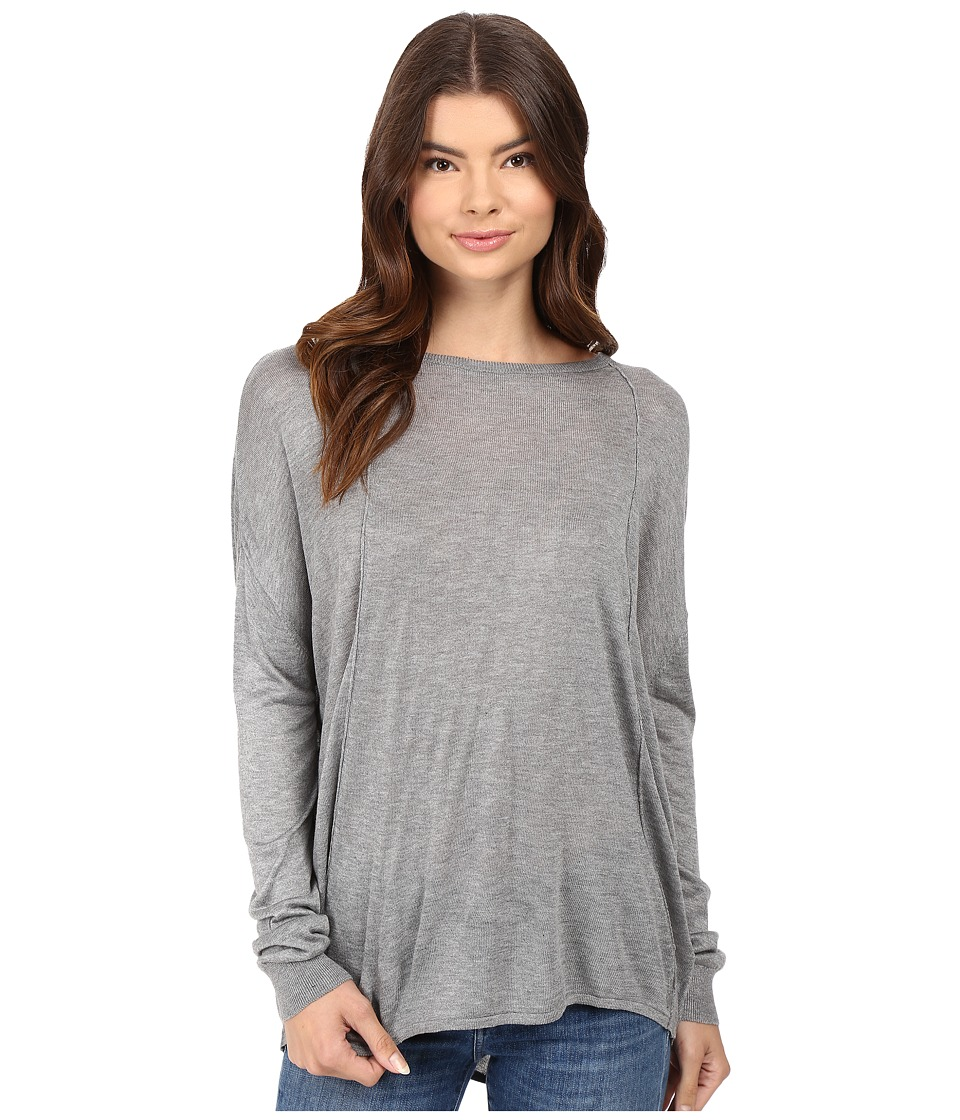 Bench - Canvass Long Sleeve Sweater (Stormcloud Marl) Women's Sweater