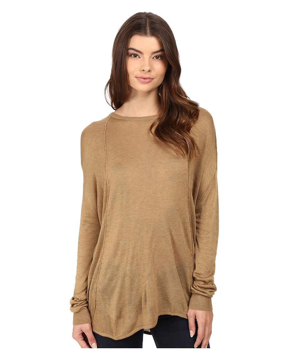 Bench - Canvass Long Sleeve Sweater (Antique Bronze Marl) Women's Sweater