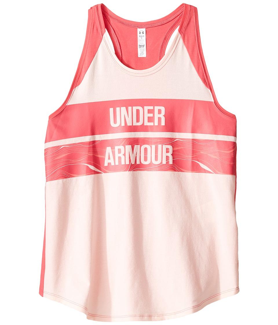 Under Armour Kids - UA Double Up Tank Top (Big Kids) (Ballet Pink/Ballet Pink) Girl's Sleeveless