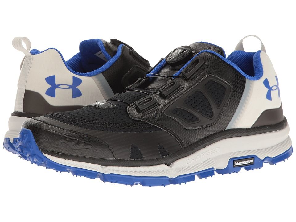 Under Armour - UA Verge Amphibian (Black/Elemental/Team Royal) Men's Boots