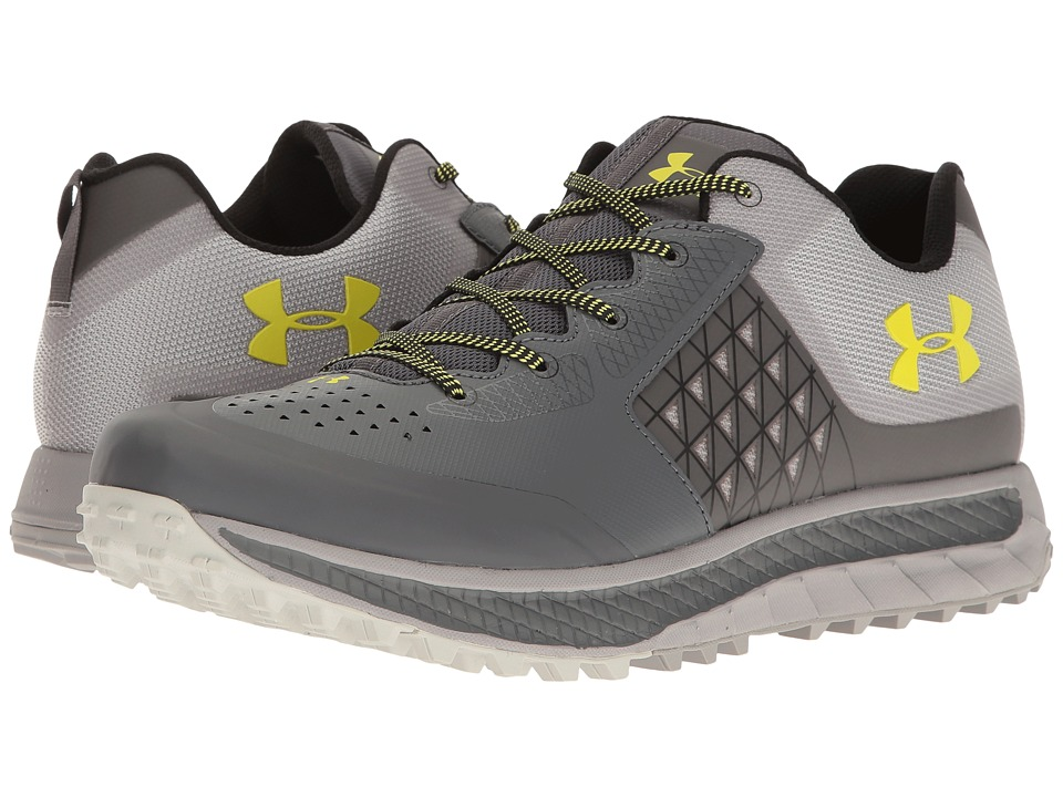 Under Armour - UA Horizon STC (Rhino Gray/Gray Wolf/Smash Yellow) Men's Boots