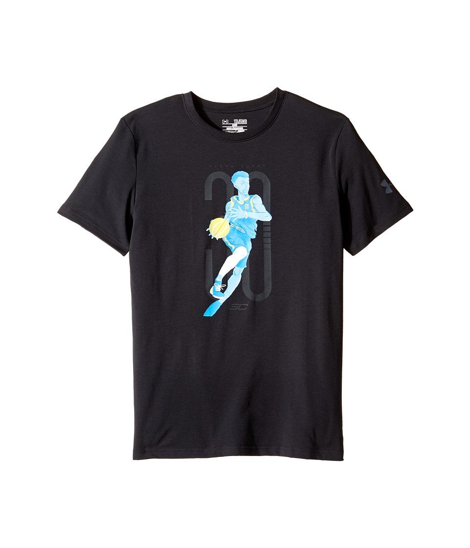 Under Armour Kids - SC30 Change The Game Short Sleeve Tee (Big Kids) (Black) Boy's T Shirt