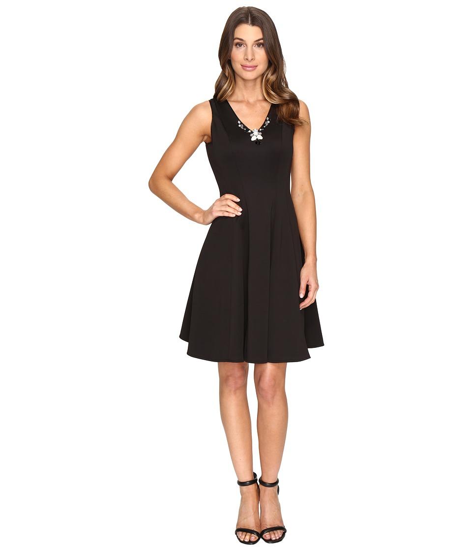 Christin Michaels Baileyton Dress (Black) Women