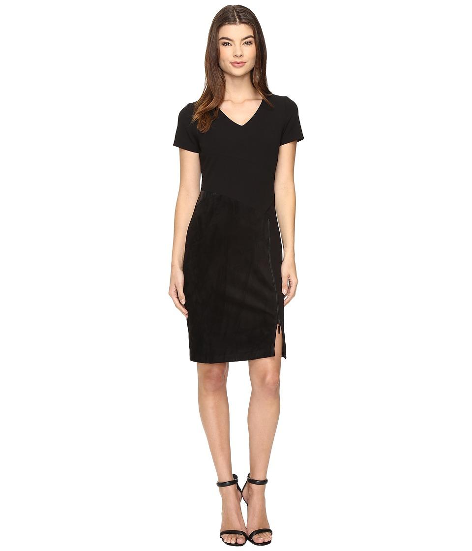 Christin Michaels Ashlend Dress (Black) Women