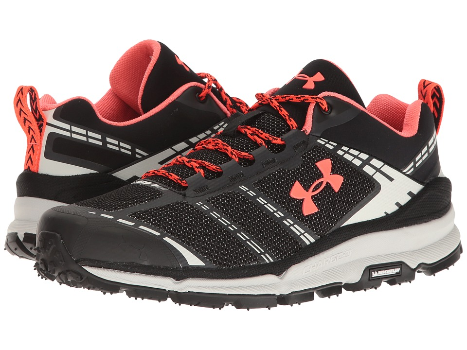 Under Armour - UA Verge Low (Black/Elemental/Phoenix Fire) Men's Boots
