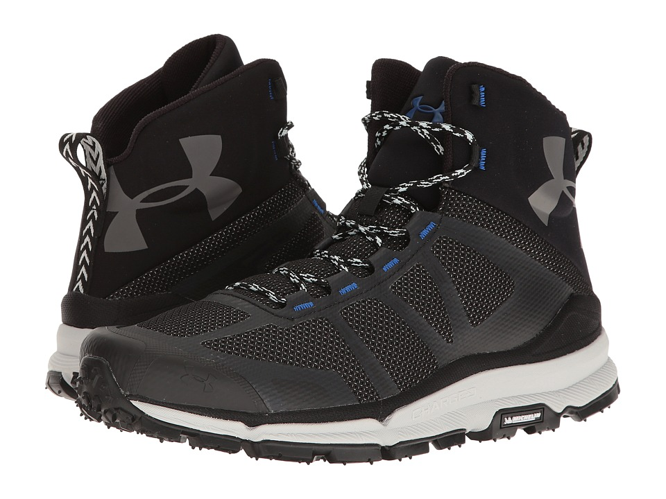 Under Armour - UA Verge Mid (Black/Ultra Blue/Elemental) Men's Boots