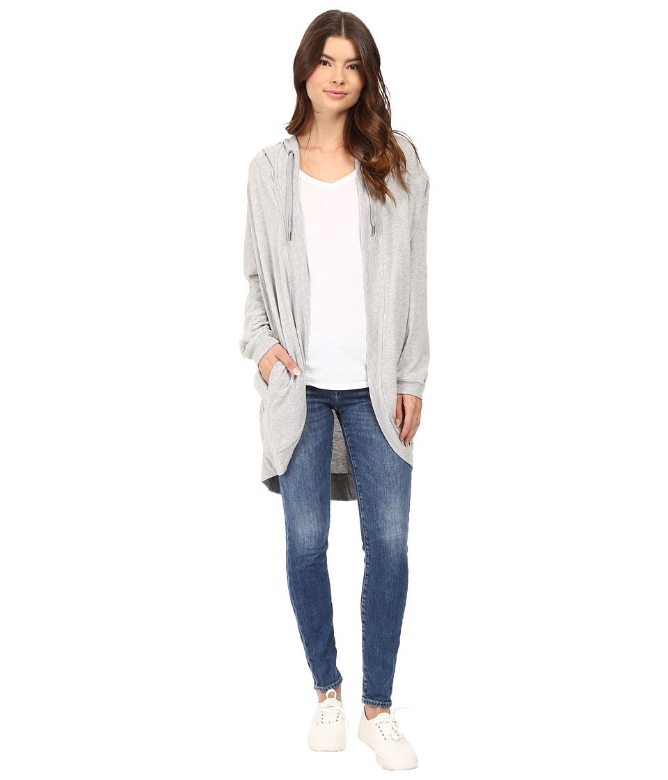 Bench - Melancholist Loose Cardigan (Grey Marl) Women's Sweater