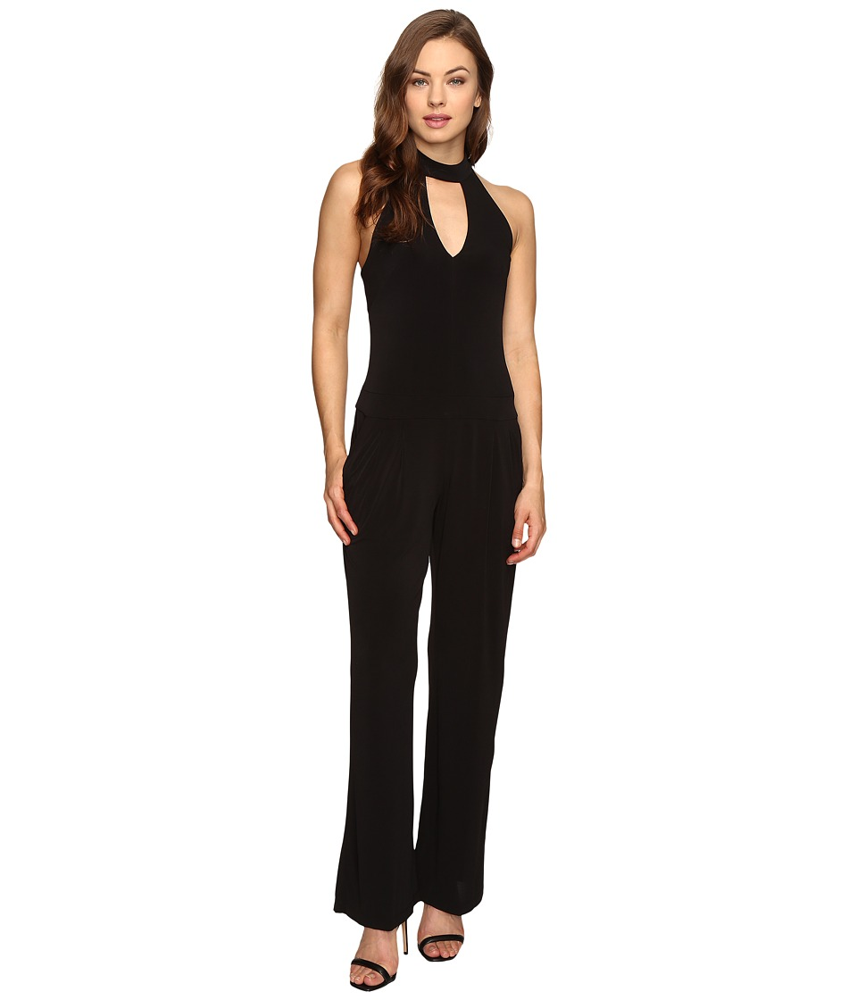 Christin Michaels - Athens Jumpsuit (Black) Women's Jumpsuit & Rompers One Piece