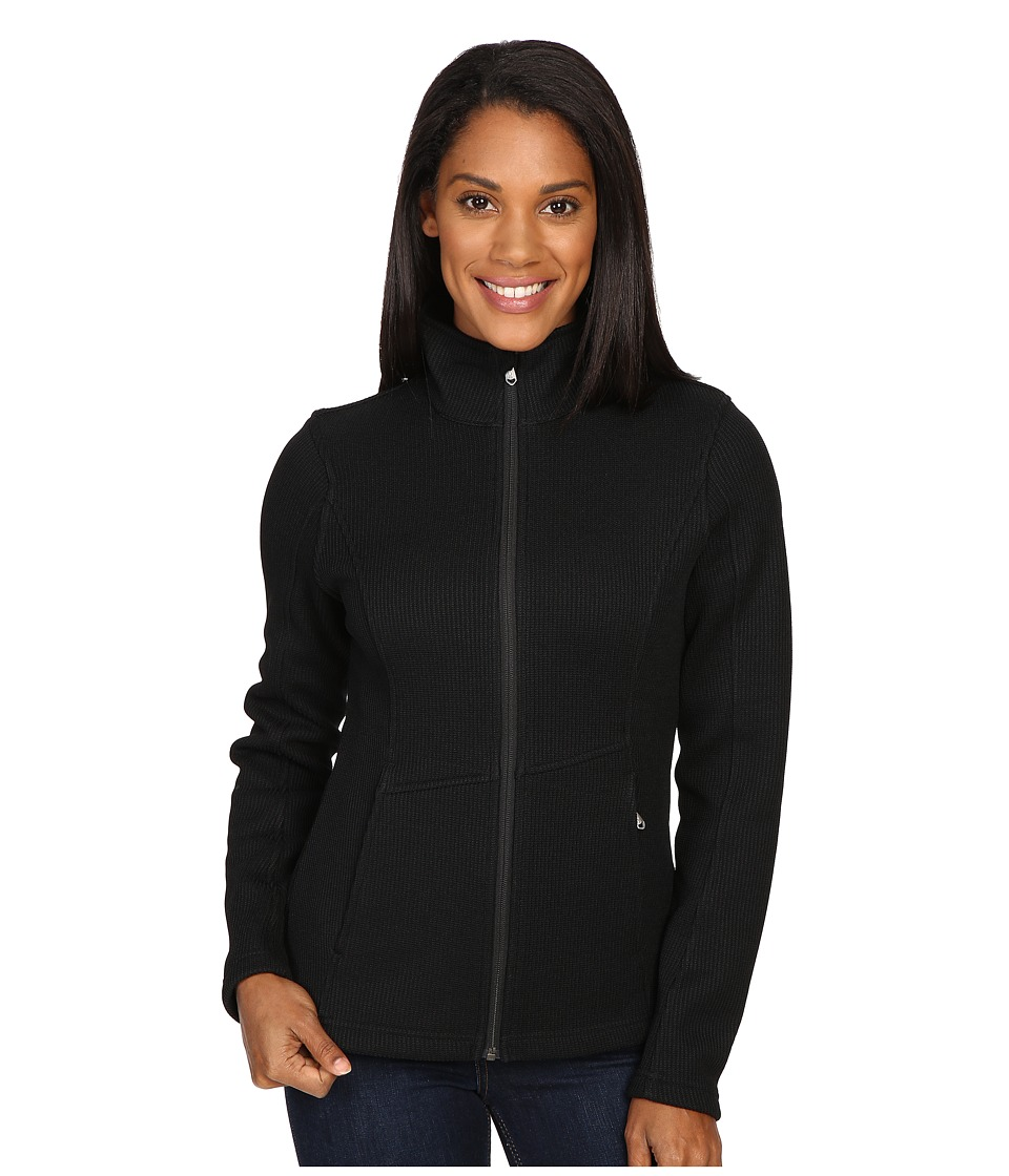 Spyder - Endure Full Zip Mid Weight Sweater (Black 1) Women's Sweater