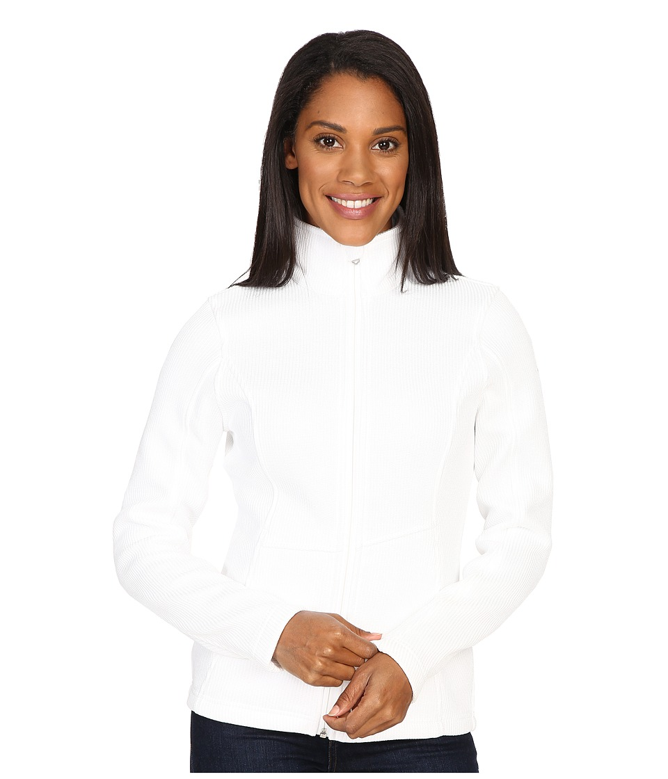 Spyder - Endure Full Zip Mid Weight Sweater (White 1) Women's Sweater