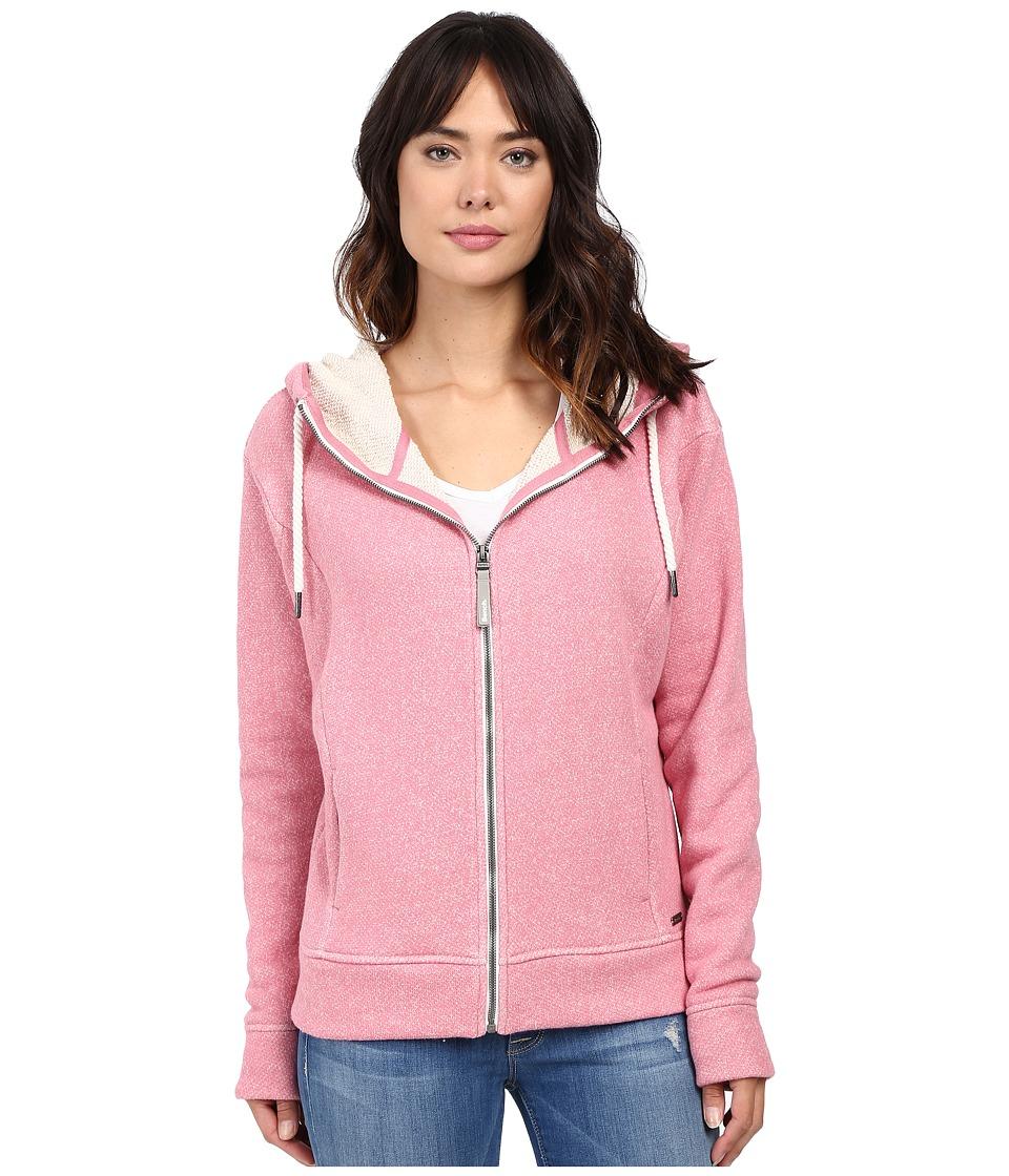 Bench - Gain Marled Sweatshirt (Brandied Apricot Marl) Women's Sweatshirt