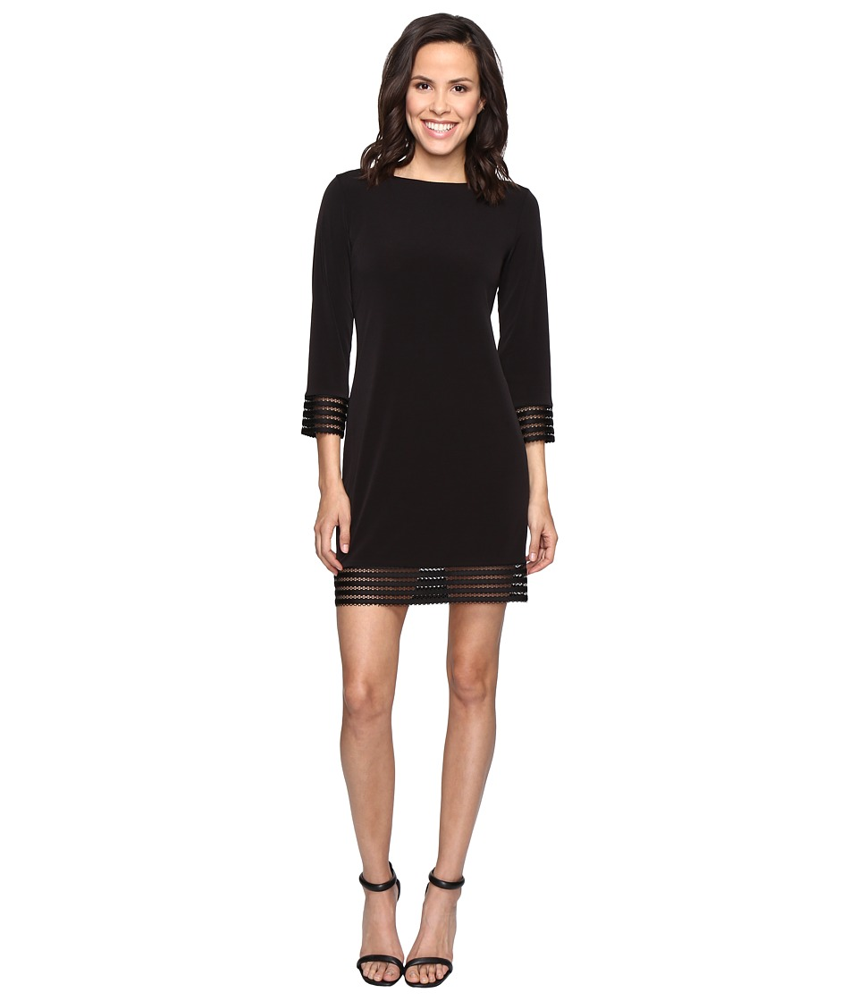Christin Michaels Cowan Dress (Black) Women