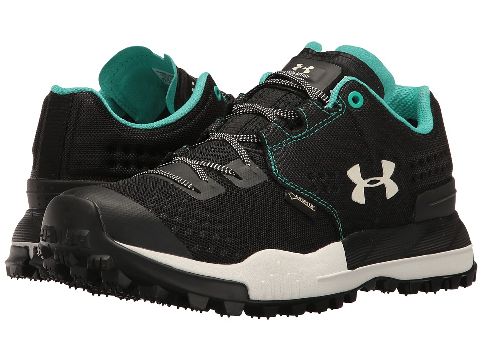 Under Armour - UA Newell Ridge Low GTX (Black/Ivory/Ivory) Women's Boots