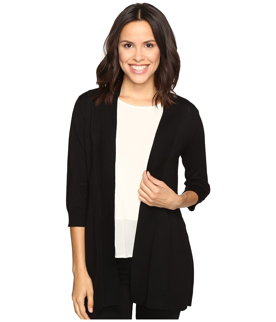 Christin Michaels - Bre Cardigan (Black) Women's Sweater