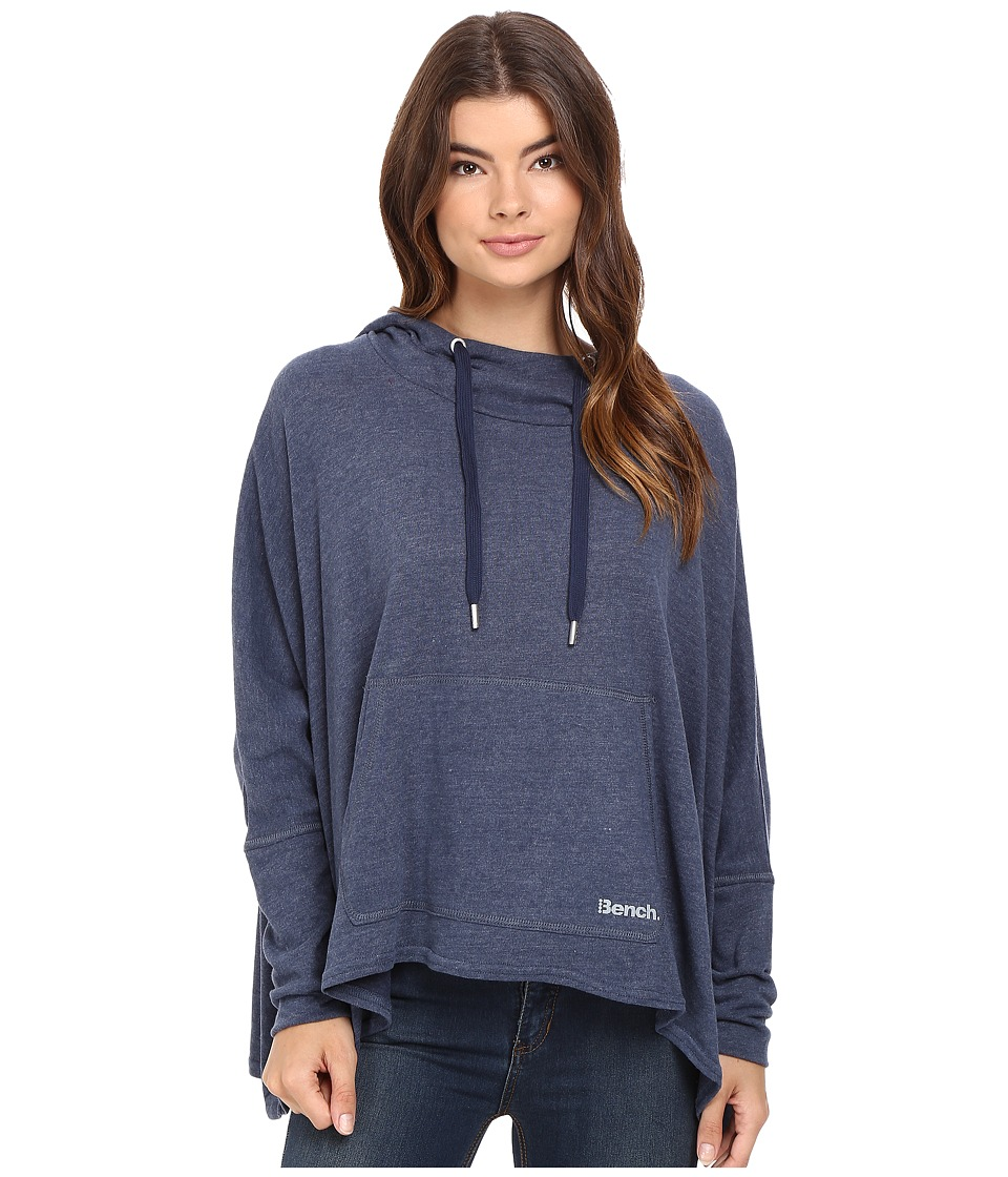 Bench - Sharpness Loose Sweatshirt (Dress Blues Marl) Women's Sweatshirt