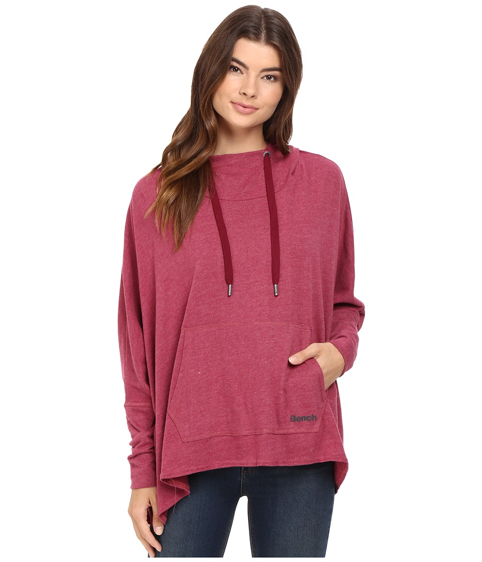 Bench - Sharpness Loose Sweatshirt (Rhododendron Marl) Women's Sweatshirt