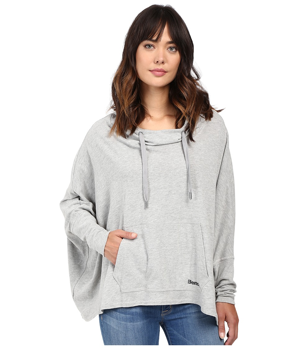 Bench - Sharpness Loose Sweatshirt (Grey Marl) Women's Sweatshirt