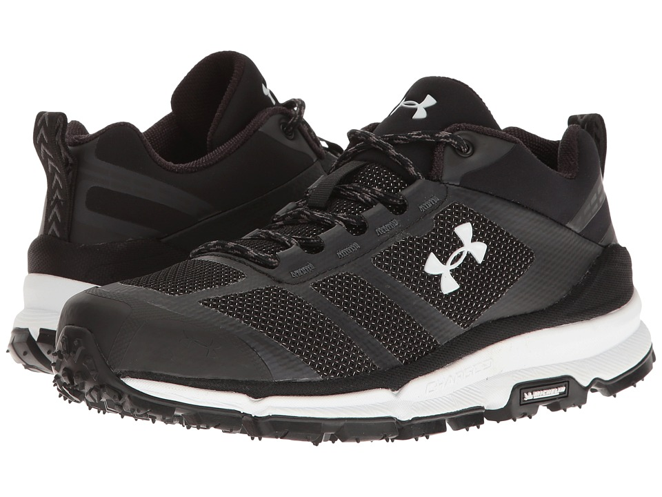 Under Armour - UA Verge Low (Black/Black/White) Women's Boots