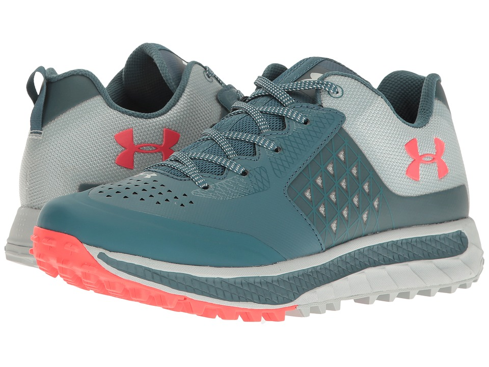 Under Armour - UA Horizon STR (Marlin Blue/Mineral Gray/Sirens Coral) Women's Boots