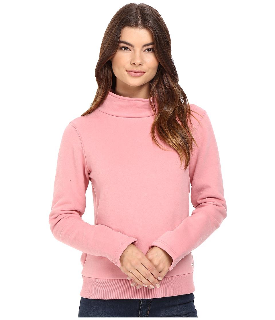 Bench - Repay Mock Neck Sweatshirt (Brandied Apricot) Women's Sweatshirt