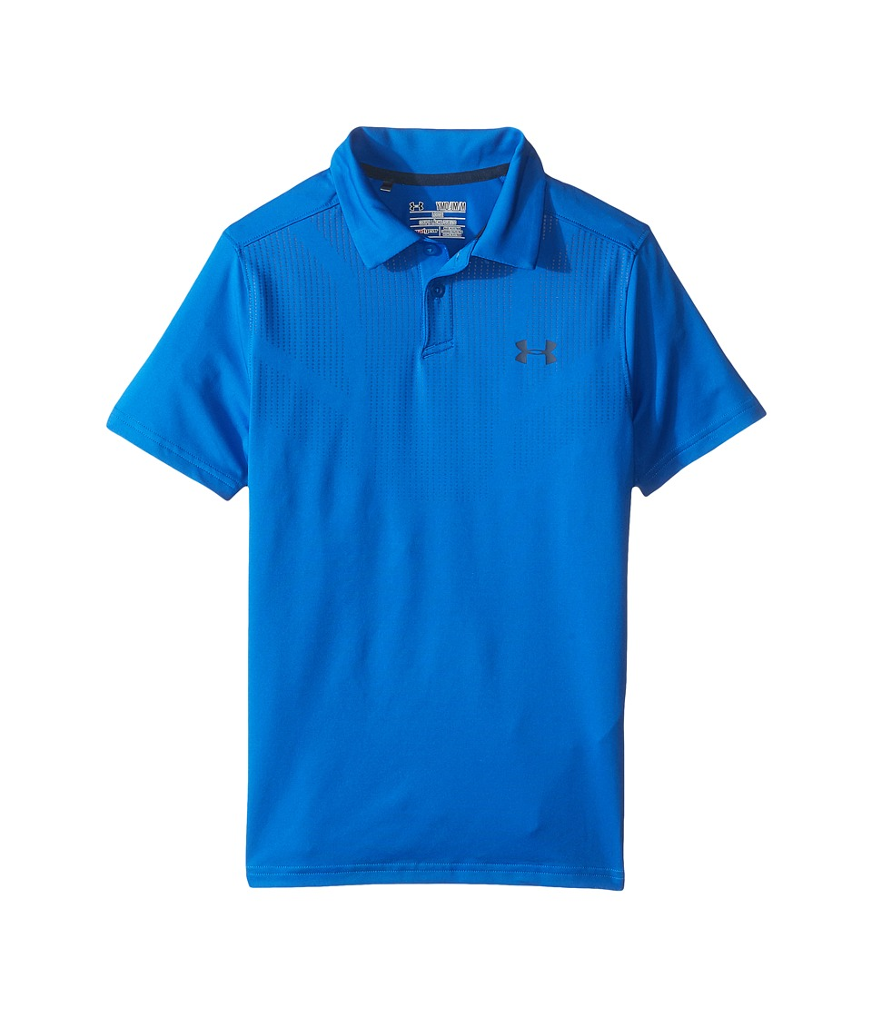 Under Armour Kids - Printed Tour Polo (Big Kids) (Blue Marker/Academy) Boy's Clothing