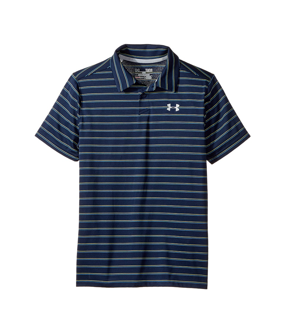 Under Armour Kids - Putting Stripe Polo (Big Kids) (Academy/Academy) Boy's Clothing