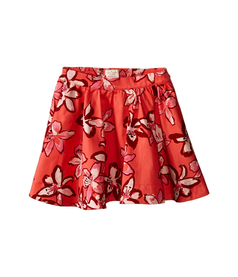 Kate Spade New York Kids - Tiger Lily Skirt (Toddler/Little Kids) (Tiger Lily) Girl's Skirt