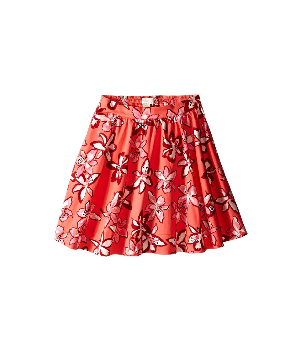 Kate Spade New York Kids - Tiger Lily Skirt (Big Kids) (Tiger Lily) Girl's Skirt