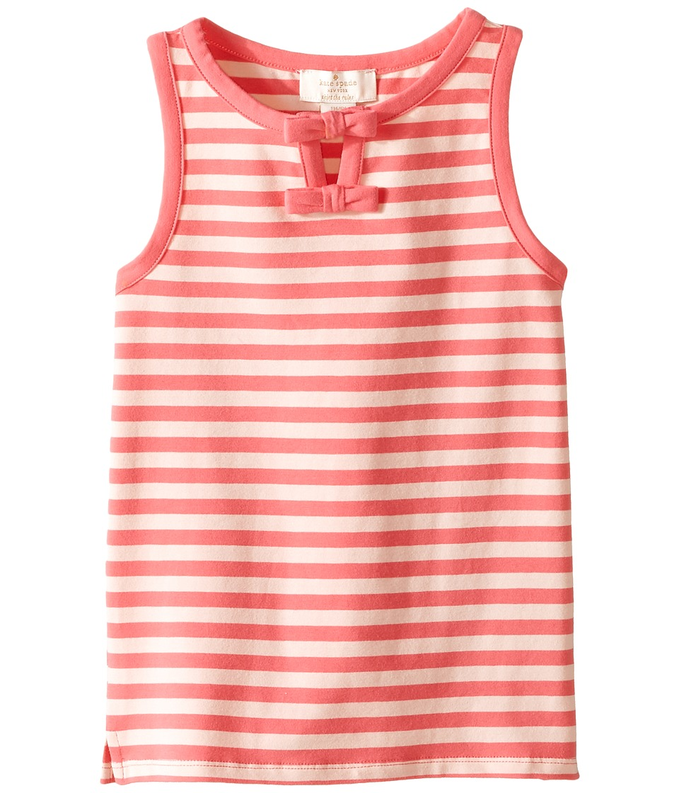 Kate Spade New York Kids - Watermelon Stripe Tank Top (Toddler/Little Kids) (Bubble/Watermelon) Girl's Sleeveless
