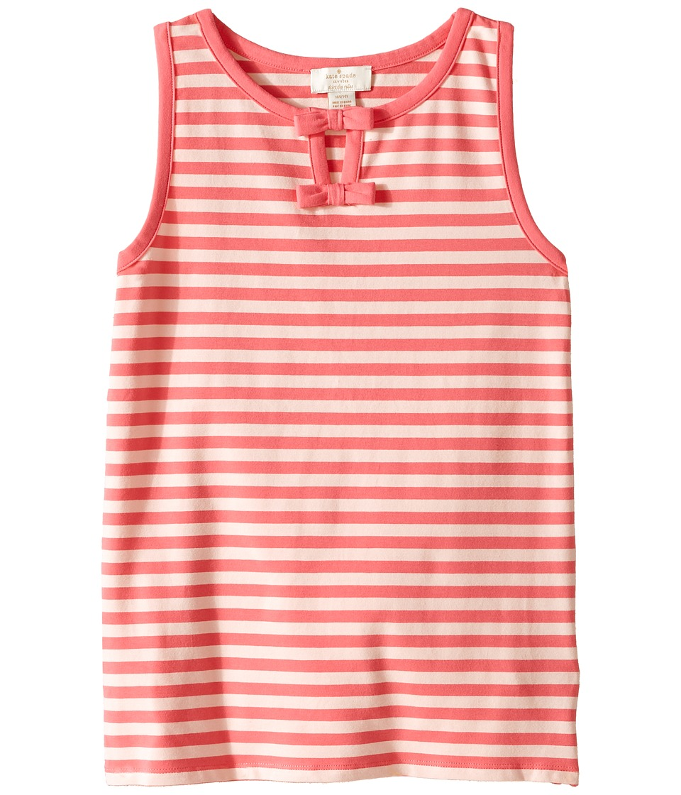Kate Spade New York Kids - Watermelon Stripe Tank Top (Little Kids/Big Kids) (Bubble/Watermelon) Girl's Sleeveless