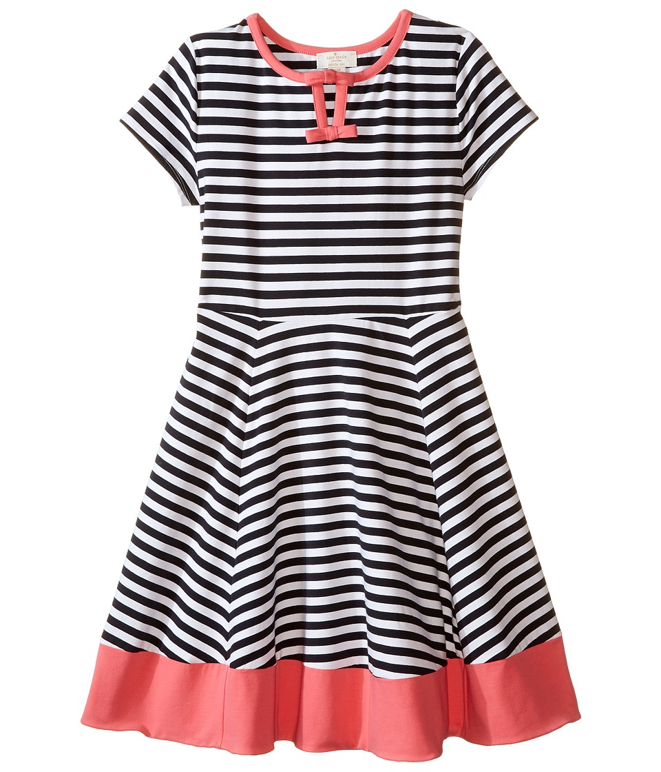 Kate Spade New York Kids - Watermelon Stripe Dress (Little Kids/Big Kids) (Stripe/Watermelon) Girl's Dress