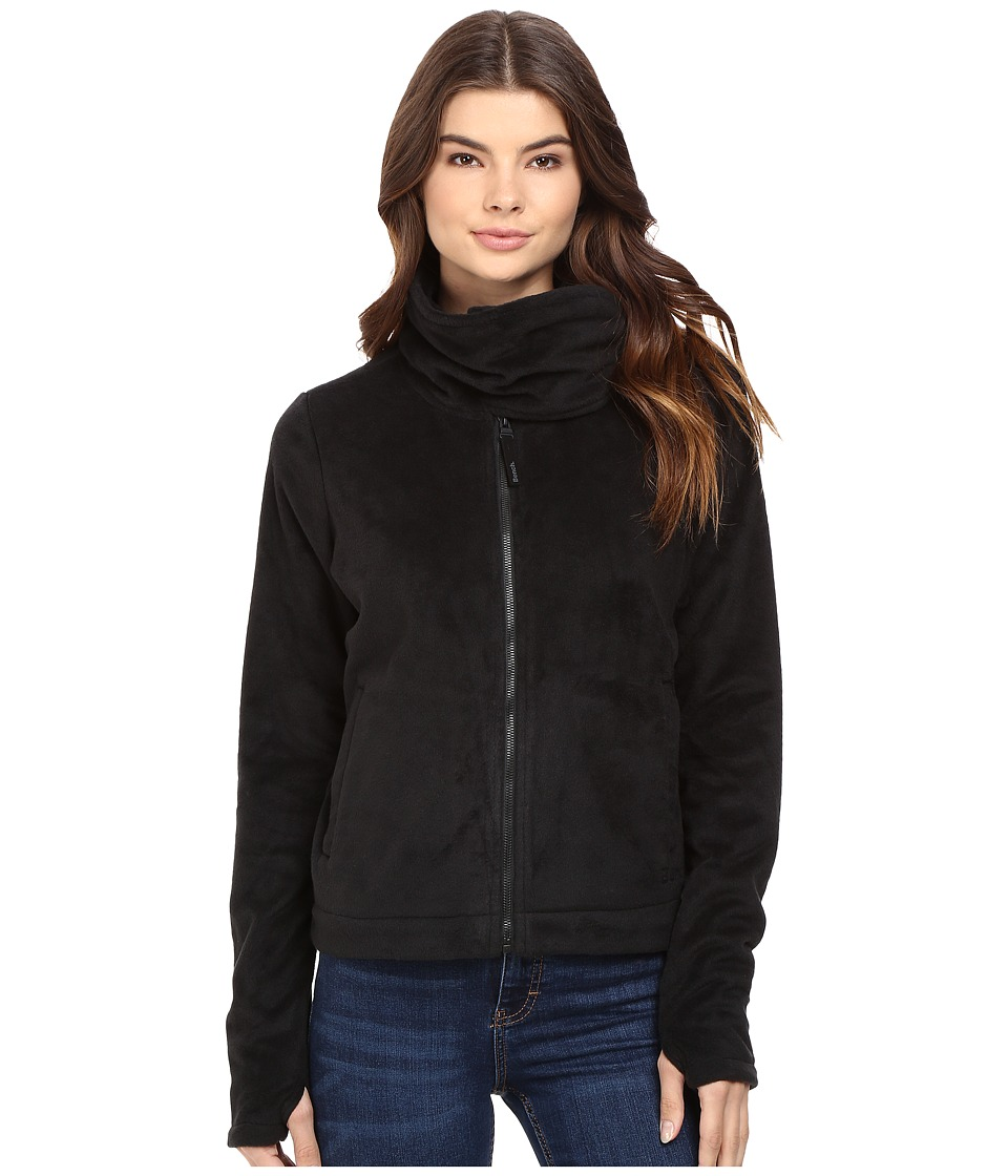 Bench - Difference Funnel Neck Sweatshirt (Jet Black) Women's Sweatshirt