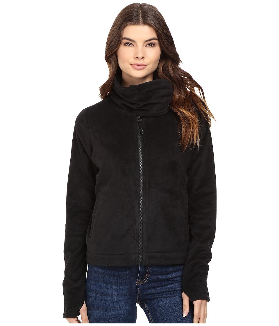 Bench - Difference Funnel Neck Sweatshirt (Jet Black) Women's Sweatshirt