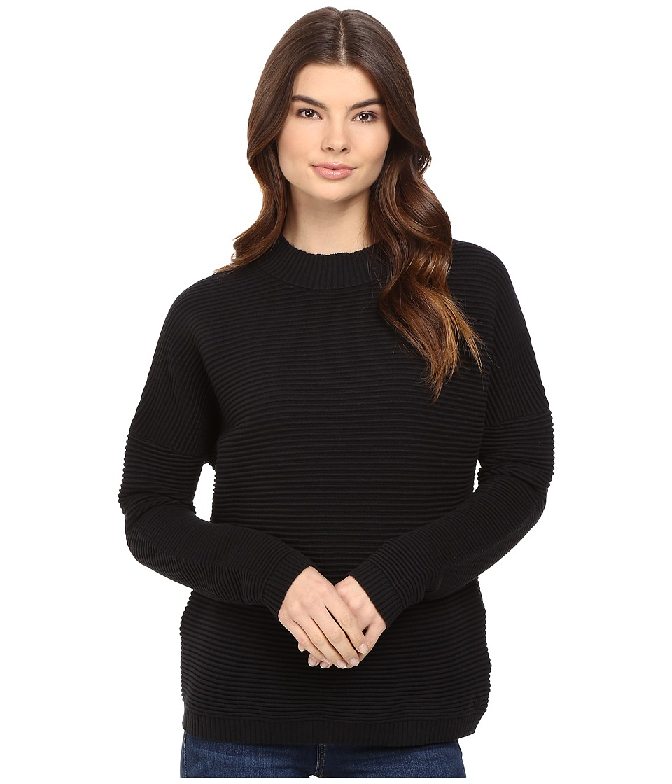 Bench - Wonderlust Mock Neck Sweater (Jet Black) Women's Sweater