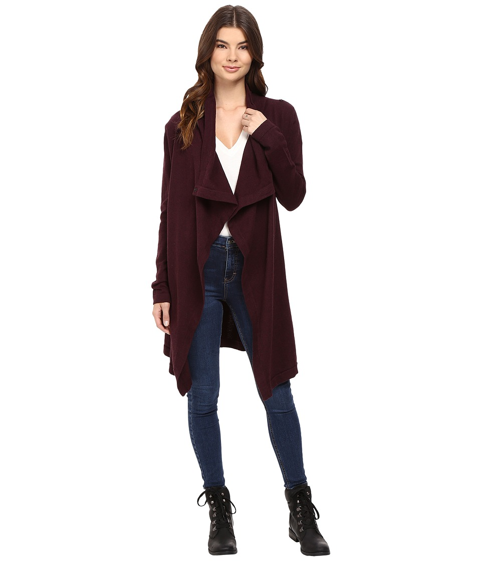 Bench - Diction Long Cardigan (Sassafras Marl) Women's Sweater