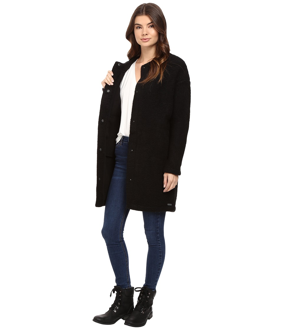Bench - Aptness Jacket (Jet Black) Women's Coat