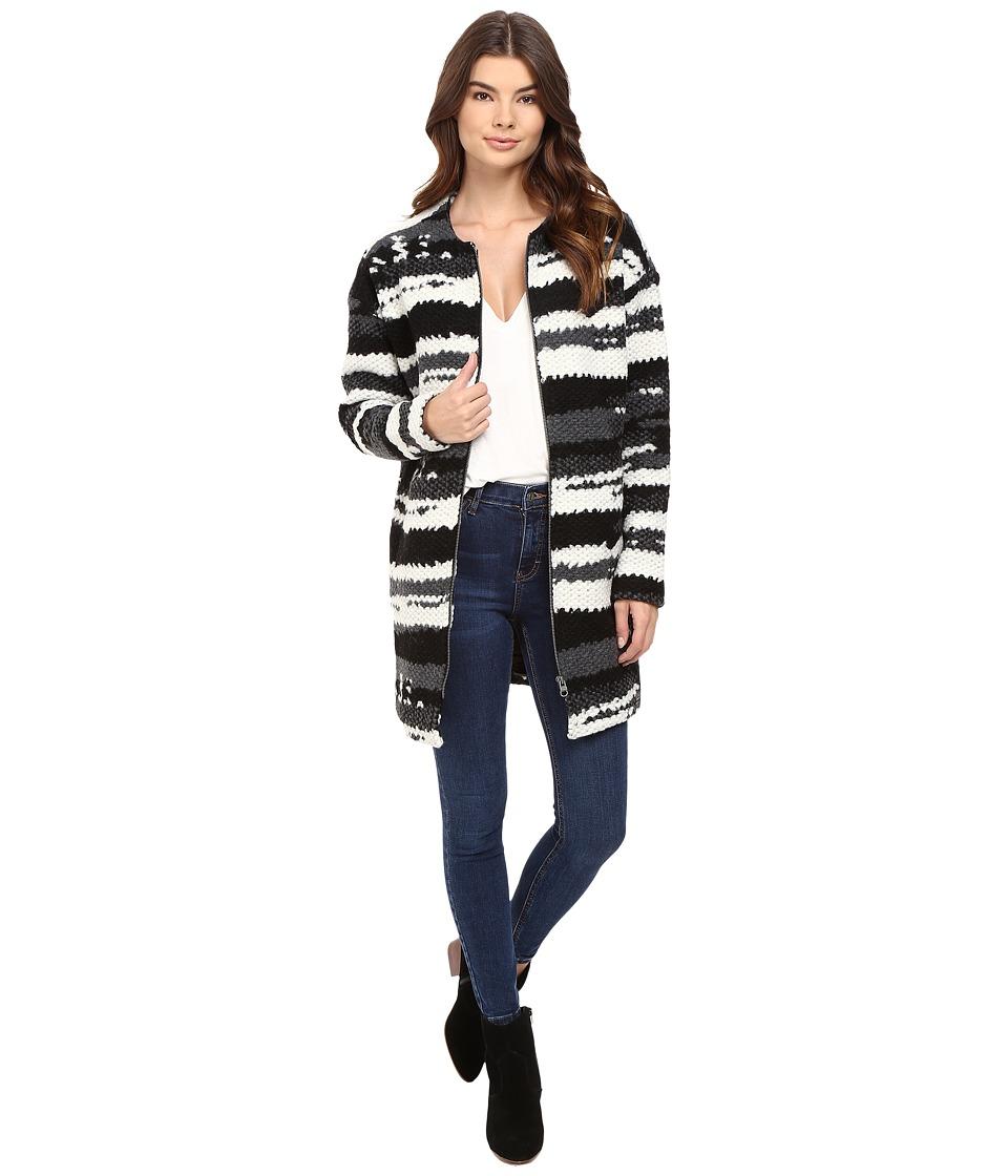 Bench - Evening Full Zip Jacket (Jet Black) Women's Coat