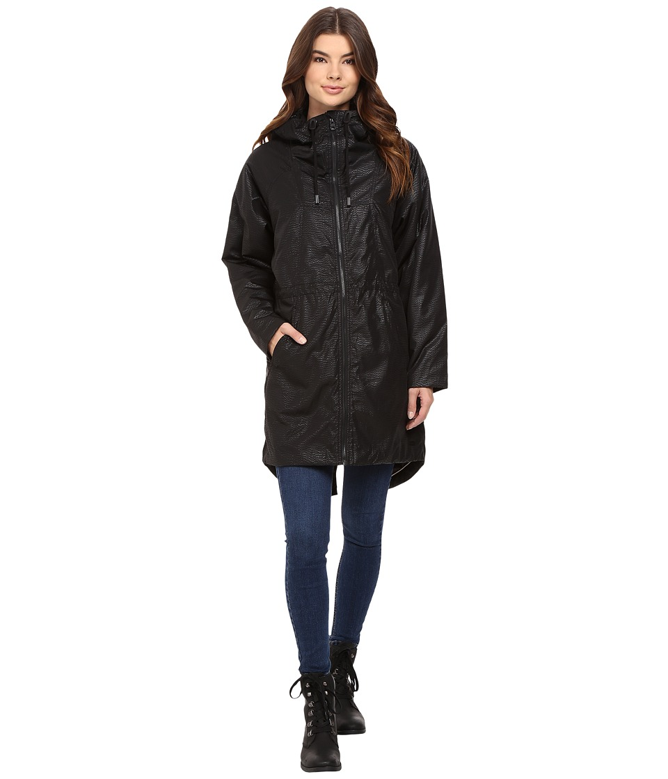 Bench - Laconic Oversized Jacket (Jet Black) Women's Coat