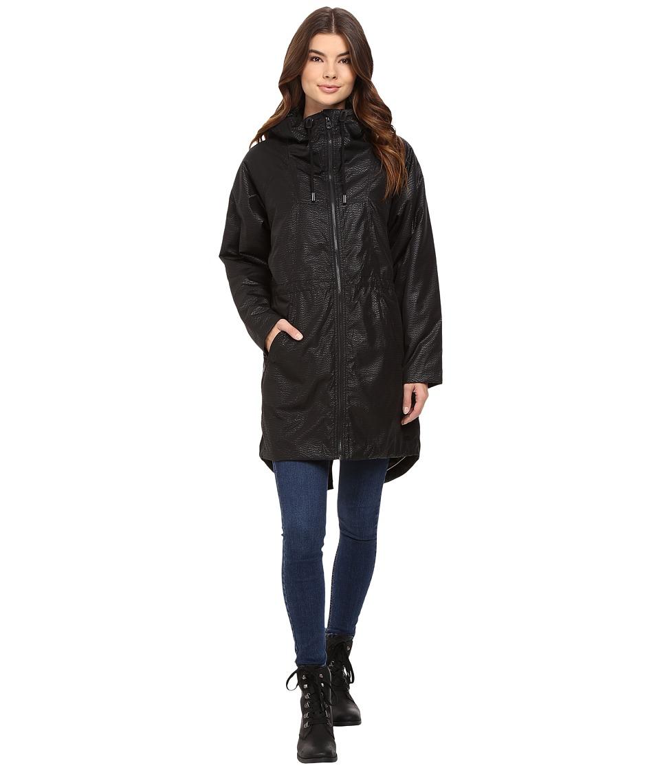 Bench - Laconic Oversized Jacket (Jet Black) Women's Coat