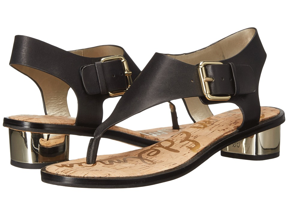 Sam Edelman - Tallulah (Black Leather) Women's Sandals