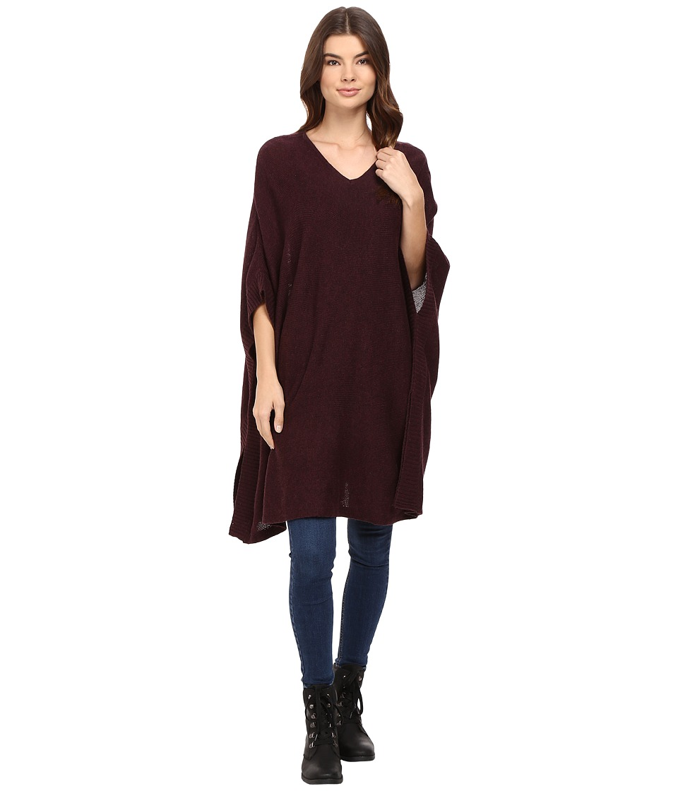 Bench - Dexterity Poncho (Sassafras Marl) Women's Clothing