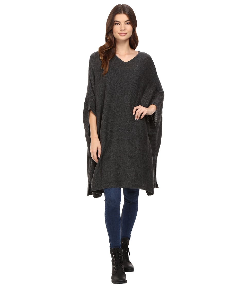 Bench - Dexterity Poncho (Anthracite Marl) Women's Clothing