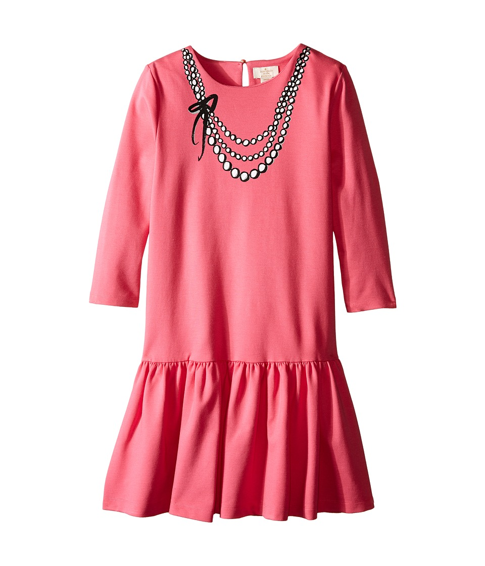 Kate Spade New York Kids - Karine Dress (Little Kids/Big Kids) (Deep Carnation) Girl's Dress