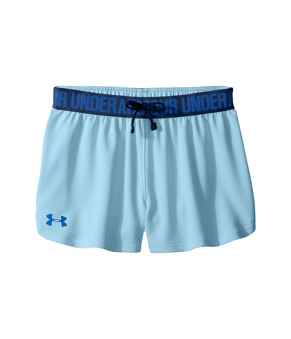 Under Armour Kids - Mesh Play Up Shorts (Big Kids) (Opal Blue) Girl's Shorts