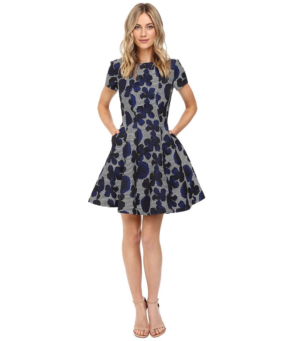 Christin Michaels - Nashville Dress (Navy Multi) Women's Dress