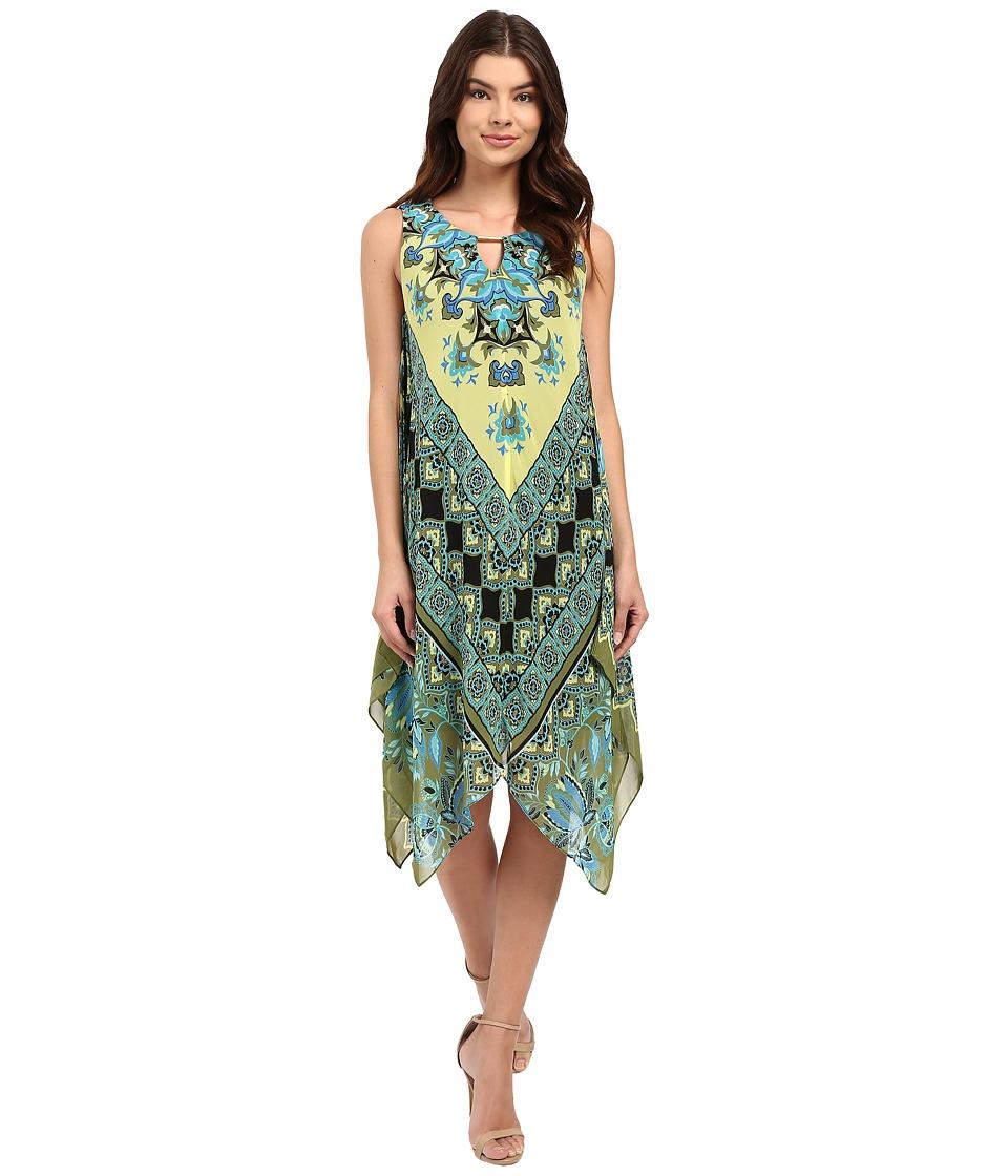 Christin Michaels Marsha Printed Dress