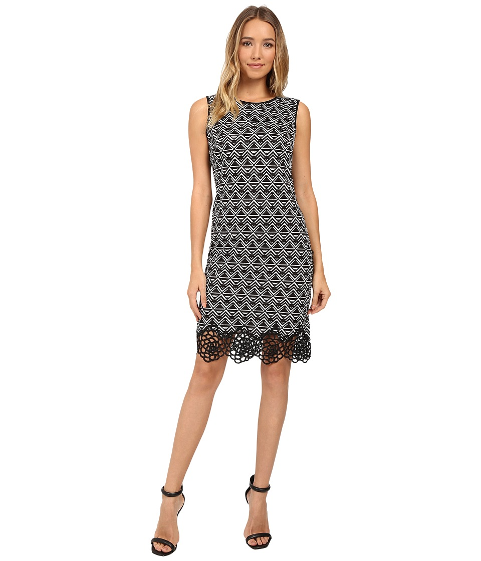 Christin Michaels - Baltimore Dress (Black/Cream) Women's Dress