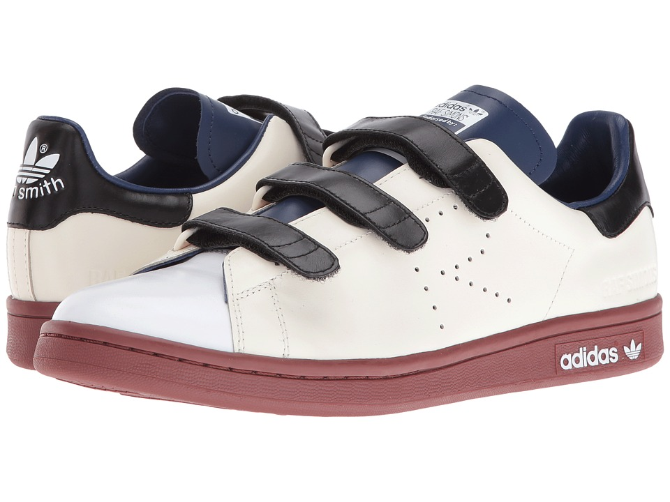 adidas by Raf Simons - Raf Simons Stan Smith CF (Cream White/Dark Blue/Fox Brown) Shoes