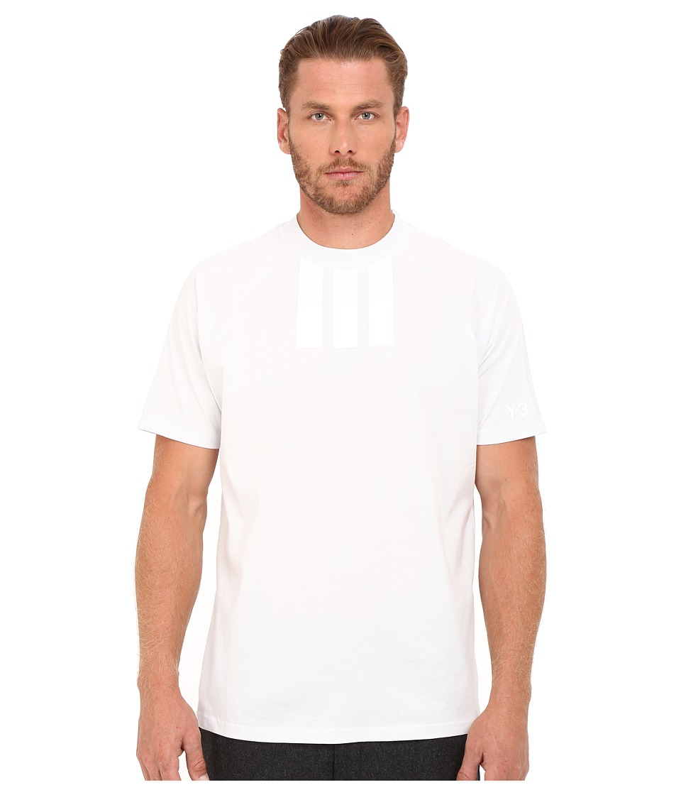 Image of adidas Y-3 by Yohji Yamamoto - 3S T-Shirt (Crystal White) Men's T Shirt