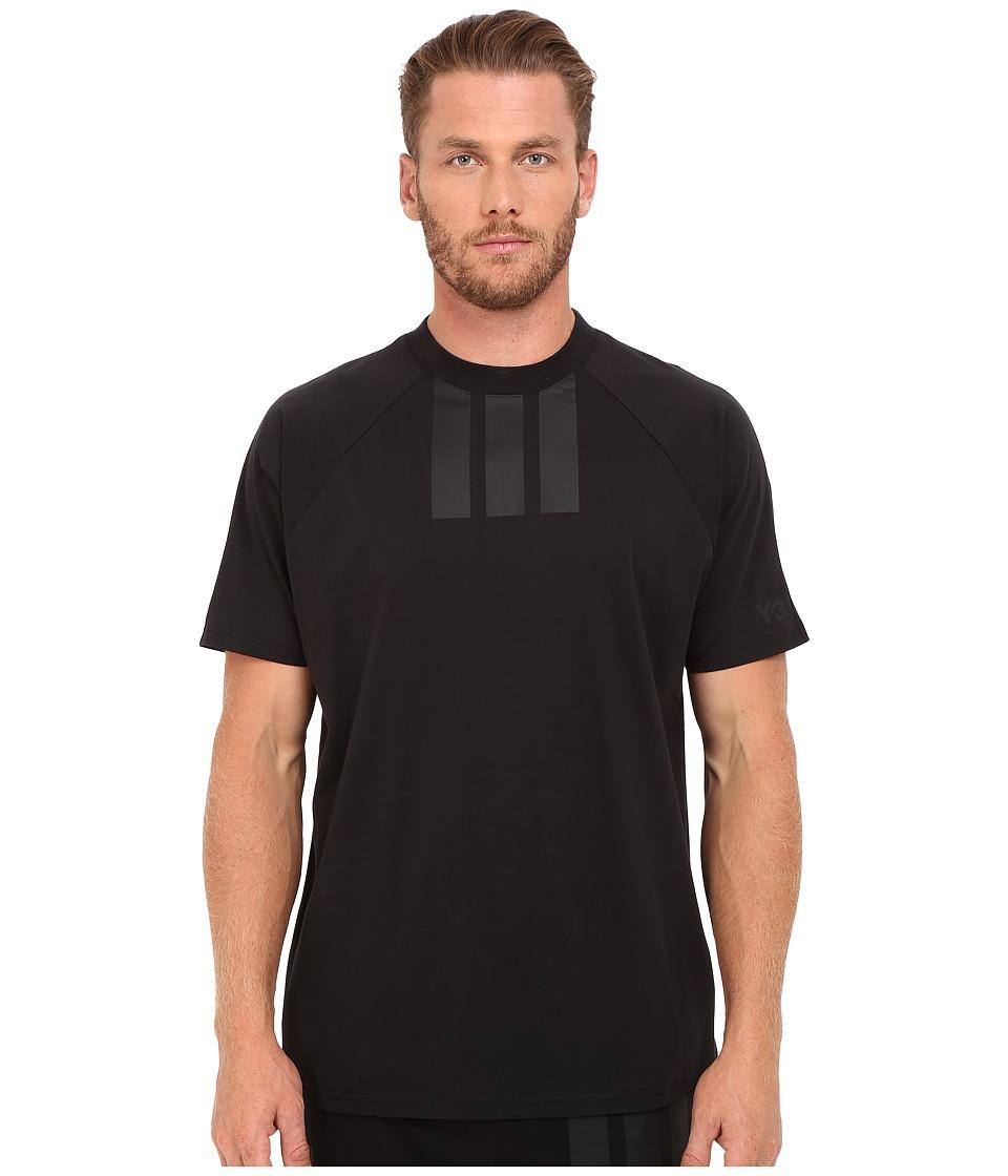 adidas Y-3 by Yohji Yamamoto - 3S T-Shirt (Black) Men's T Shirt